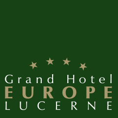 Logo Grand Hotel Europe Luzern